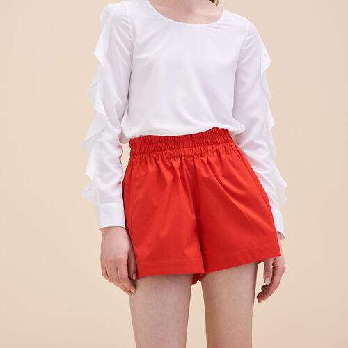 Short vaporoso - Faldas y shorts - MAJE