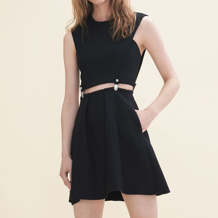 Vestido corto 3 en 1 - Vestidos - MAJE