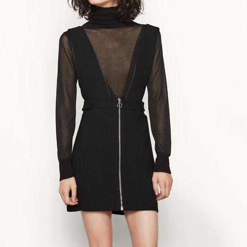 Vestido corto con tirantes anchos - Best Sellers - MAJE