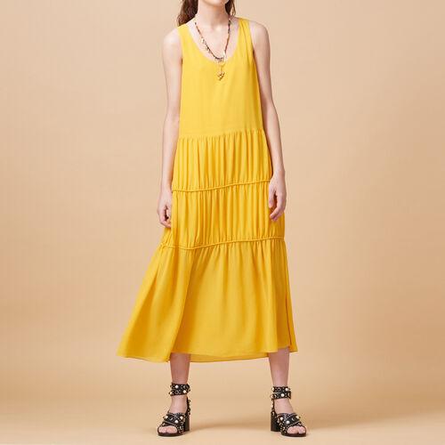 Vestido largo sin mangas - Vestidos - MAJE