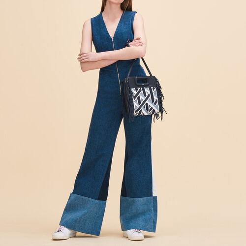 Mono con pantalón sin mangas - Jeans - MAJE