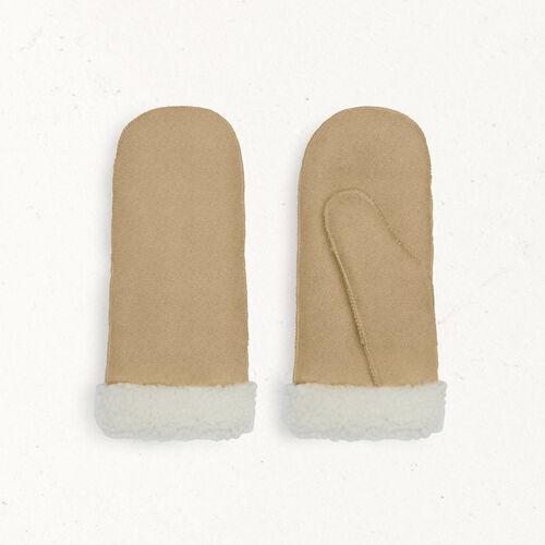 Manoplas de piel vuelta - Otros accesorios - MAJE