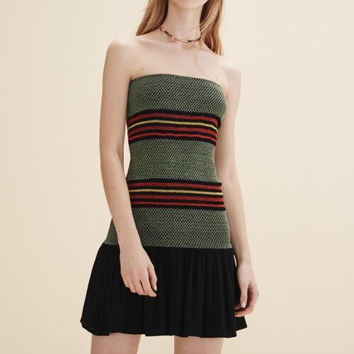 Vestido corpiño - Vestidos - MAJE