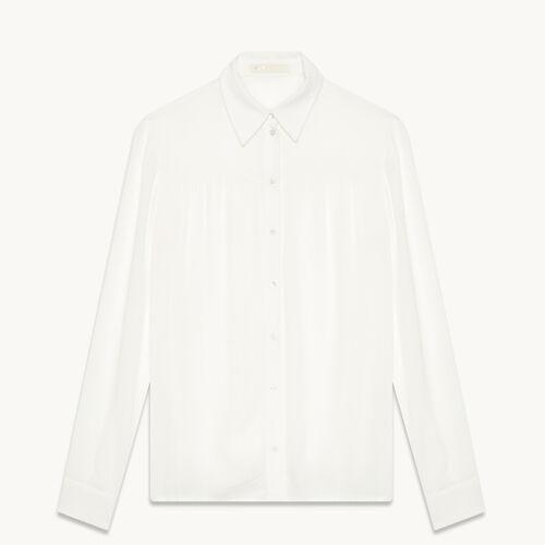 Camisa vaporosa - Tops - MAJE