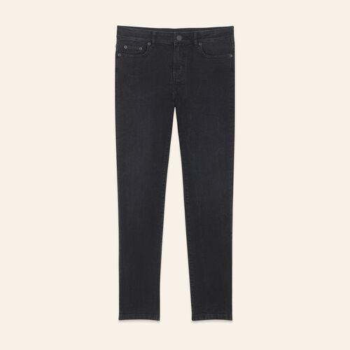 Vaquero corto de corte recto - Jeans - MAJE