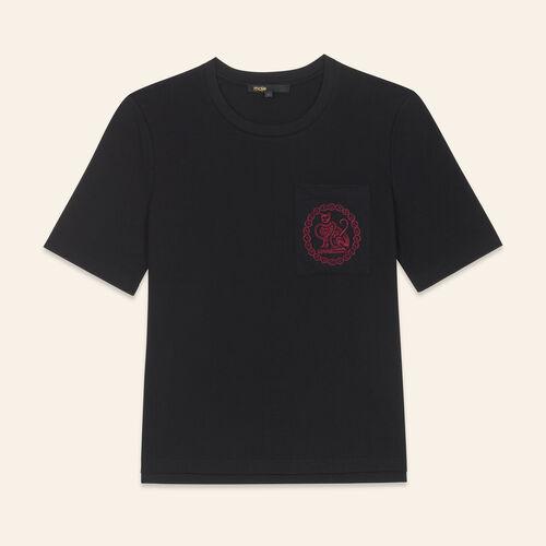 Camiseta de algodón - Tops - MAJE