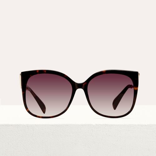 Gafas de sol retro : Gafas color ECAILLE