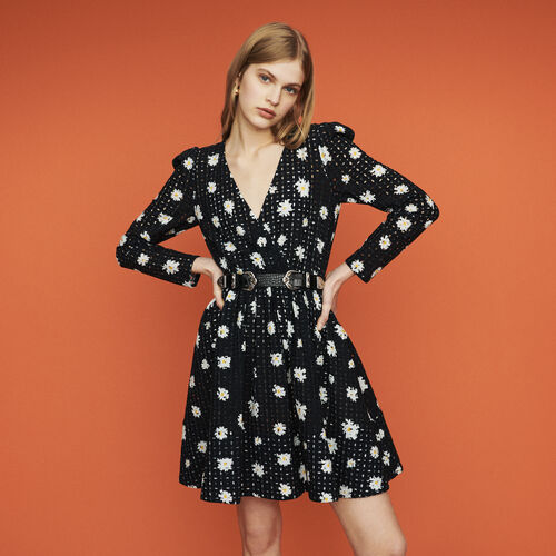 Vestido de guipur margarita : Vestidos color IMPRIME