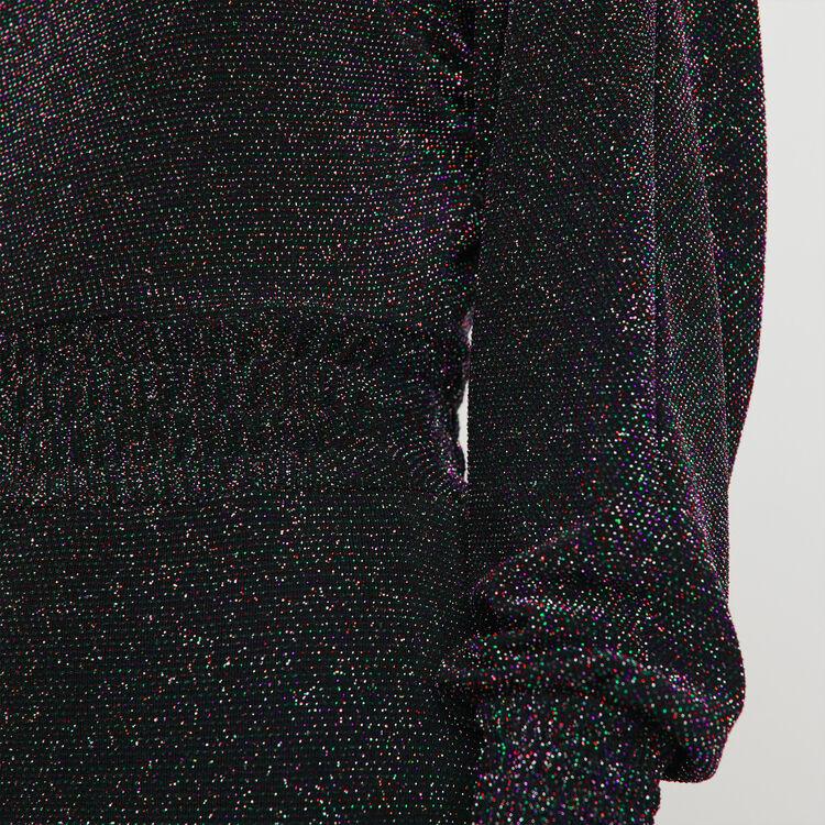 Vestido pañuelo Stretch en Lurex : Vestidos color Multicolor