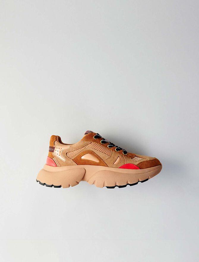 Sneakers W20 urbanos de cuero - Sneakers - MAJE