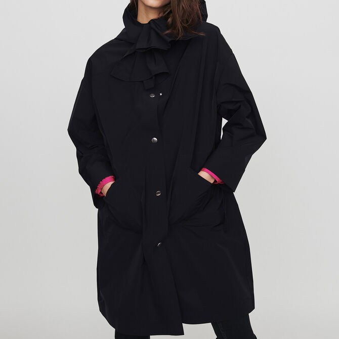 Parka tipo rompevientos a capucha - staff private sale 20 - MAJE