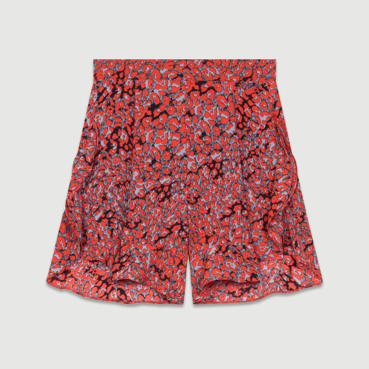 Short estampado a volantes : Faldas y shorts color IMPRIME