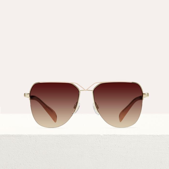 Gafas de sol tipo piloto : Gafas color Rosa