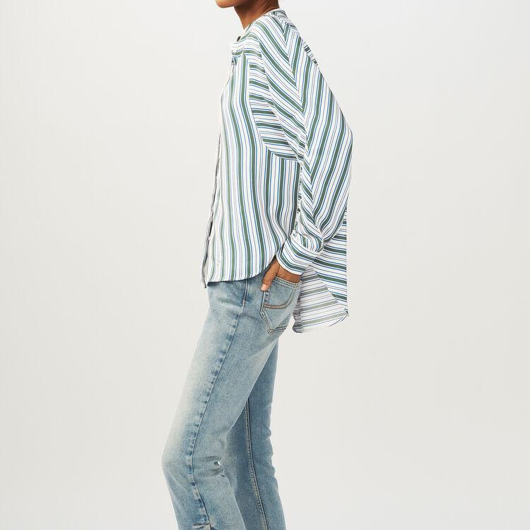 Camisa oversize de rayas : Camisas color Estampado