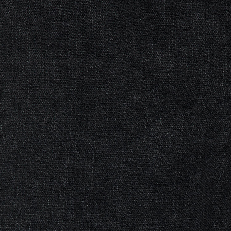 Jean ancho con flecos : Jeans color Negro