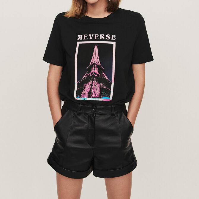 Camiseta decorada - Ver todo - MAJE