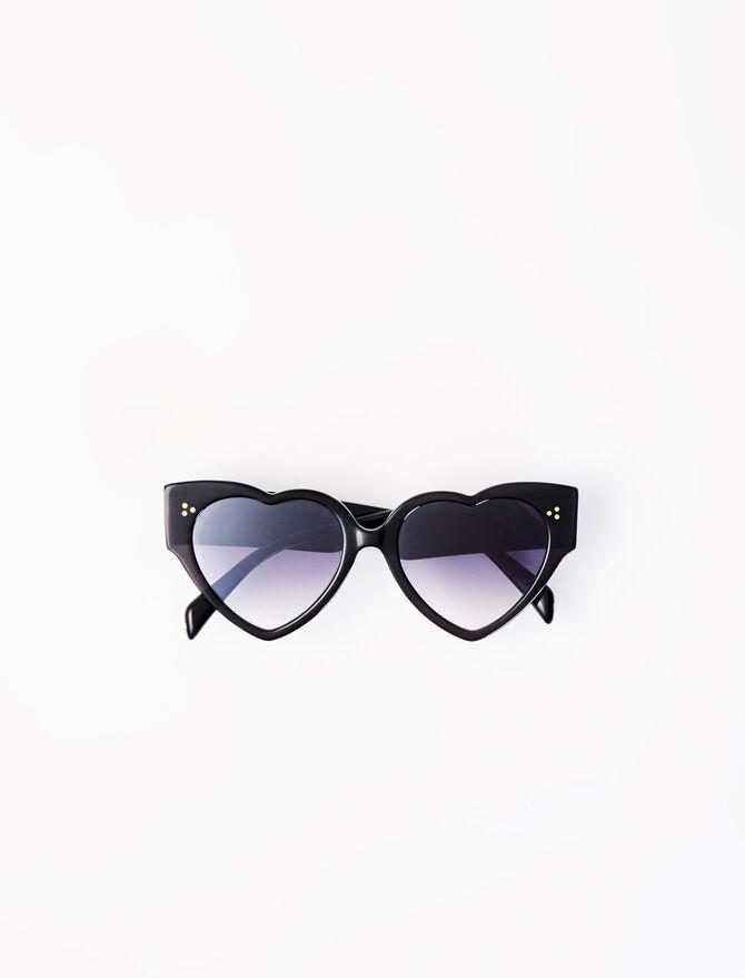Gafas de sol corazón de acetato - Gafas - MAJE