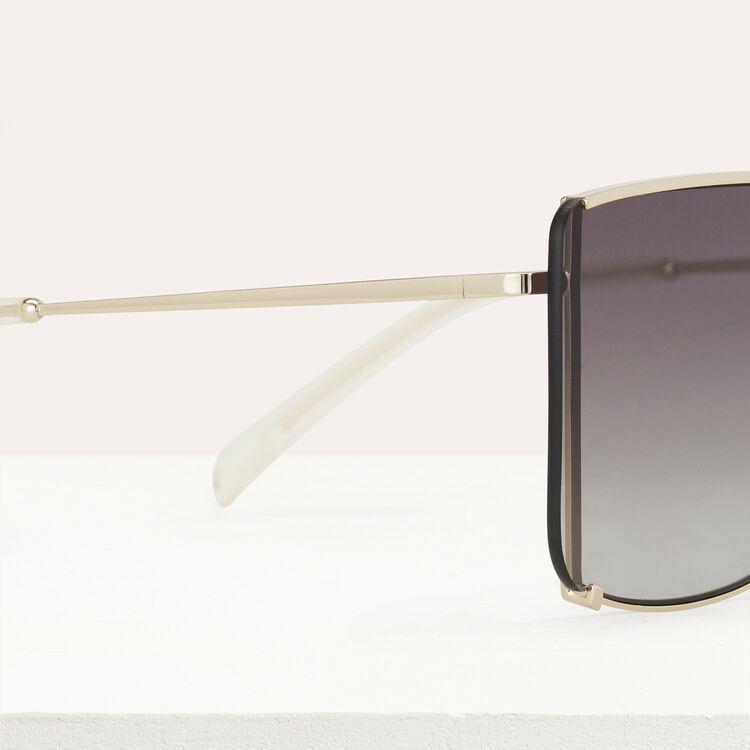 """Gafas de sol """"Mascara""""de metal : Gafas color Multicolor"""