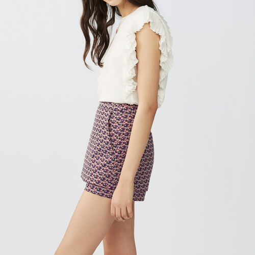 Short 2 en 1 Jacquard : Faldas y shorts color Jacquard