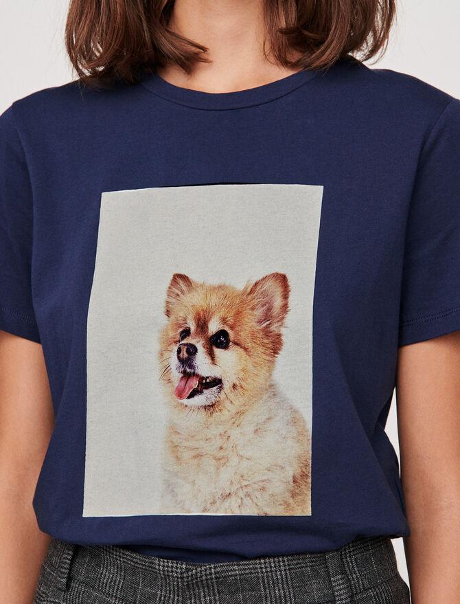 Camiseta estampada - T-Shirts - MAJE