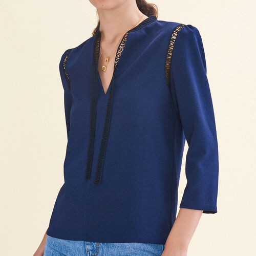Blusa con galón : Best Sellers color Noche