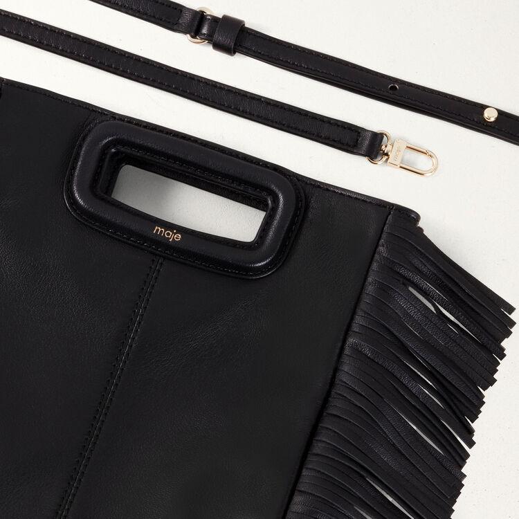 Bolso M de piel de cordero : Bolsos M color Negro