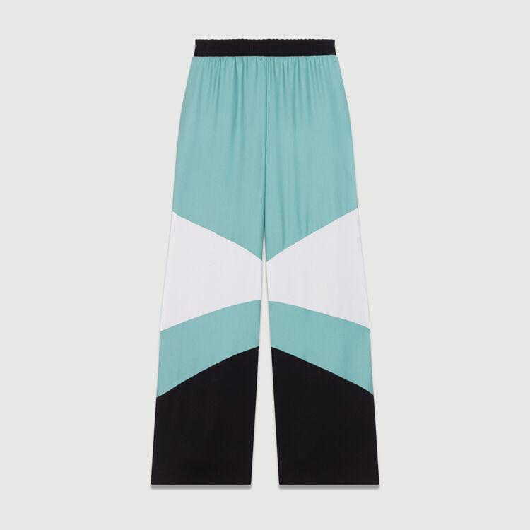 Pantalón ancho multicolor : Nueva Colección color Multicolor