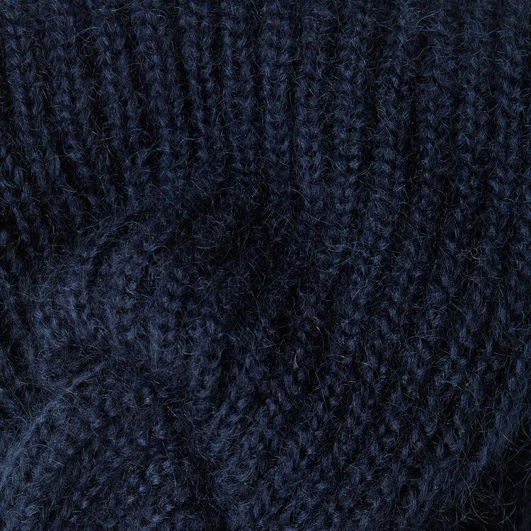 Bandana de mezcla de lana : Accesorios color Azul Marino