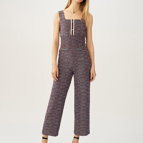 Mono en tweed : Monos color Jacquard