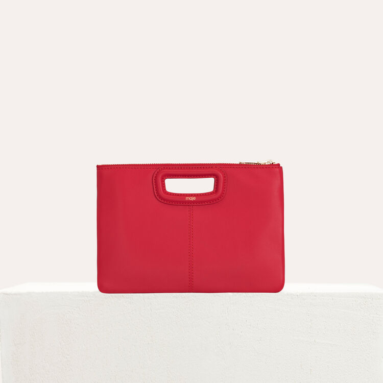 Cartera M Duo de cuero : M Duo color Rojo