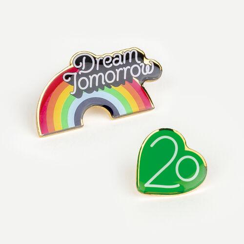 Pins X 20 años : Urban color Multicolor