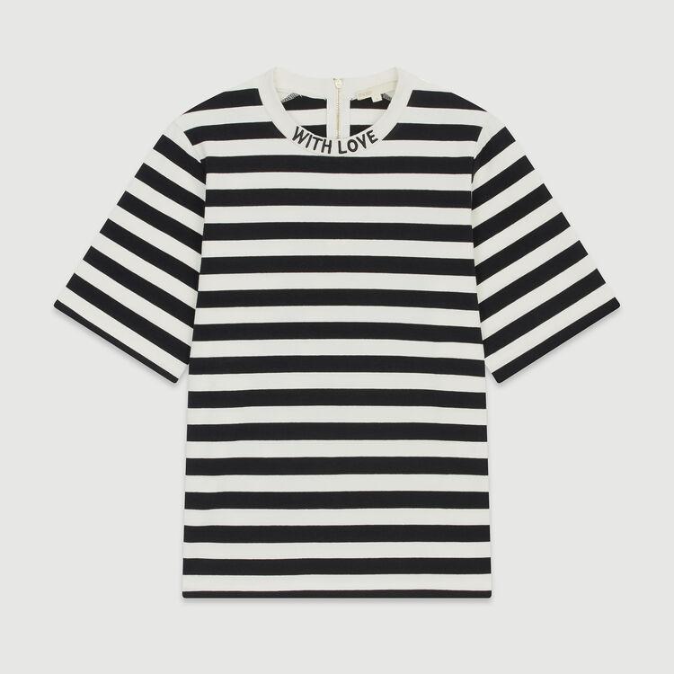 Camiseta bicolor de rayas : T-Shirts color Rayas