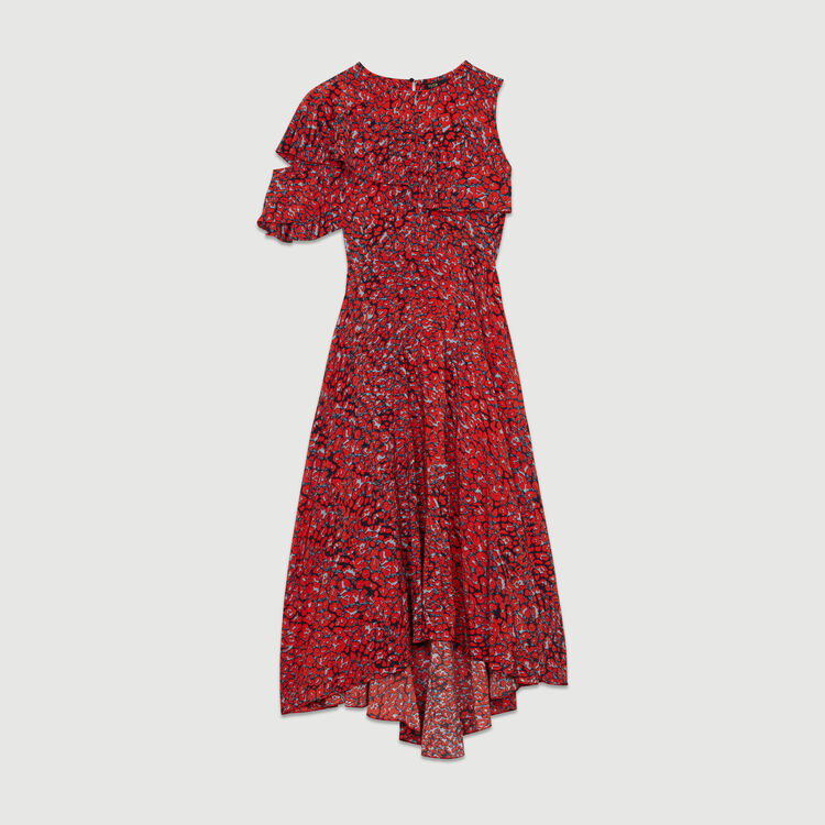 Vestido sin mangas asimétricos : Nueva colección color Estampado
