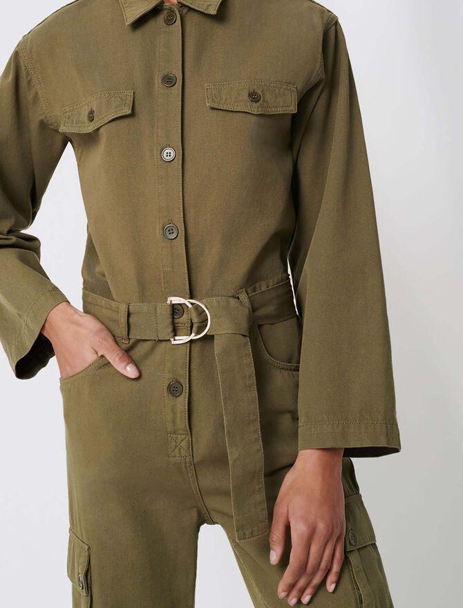 Mono de estilo militar - Pantalones y Jeans - MAJE