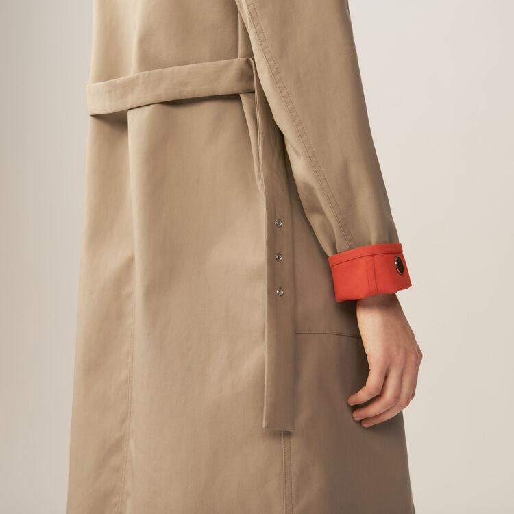 Trench coat : Abrigos color Beige