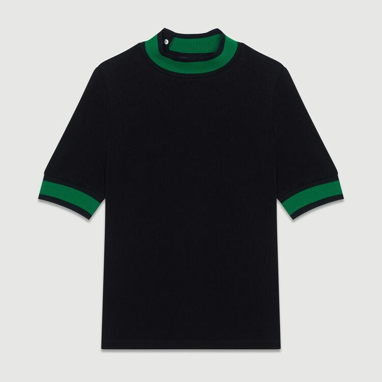 Top espíritu sportswear : Tops color Negro