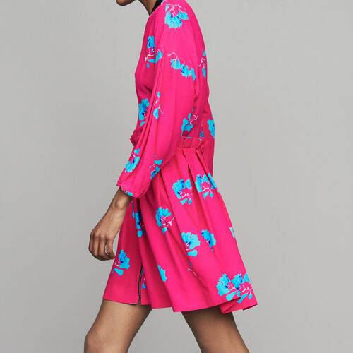 Vestido estampado : Vestidos color IMPRIME