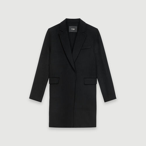 Abrigo corto doble faz : Abrigos y Cazadoras color Negro