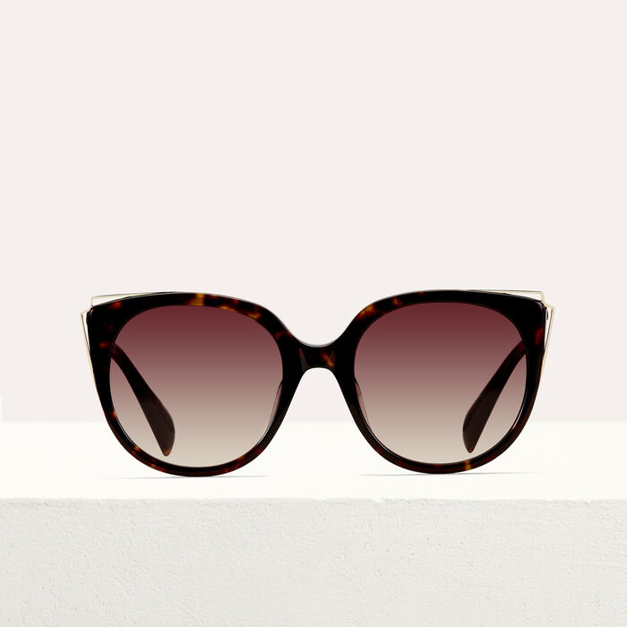 Gafas de sol de metal y acetato : See all color ECAILLE