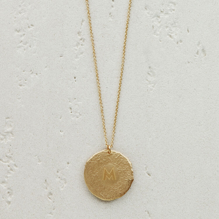 Collar de signo del Zodíaco Tauro : Medallones color OR