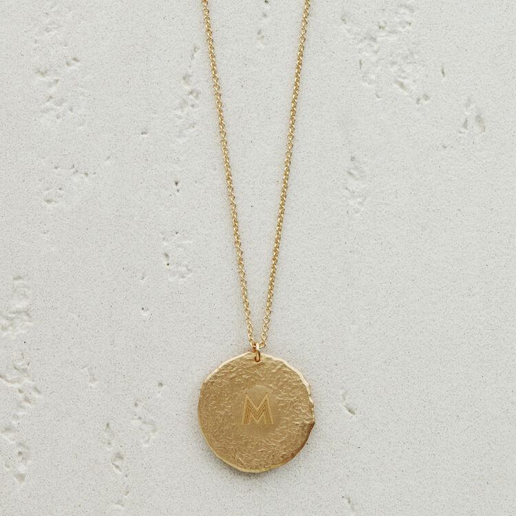 Collar de signo del Zodíaco Virgo : Medallones color OR