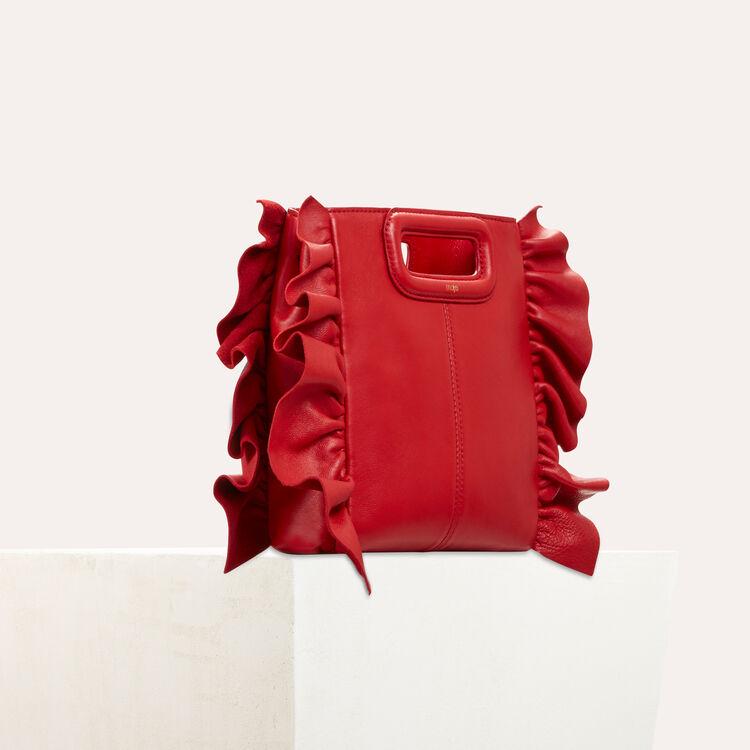 Bolso M con volantes : Bolsos M color Rojo