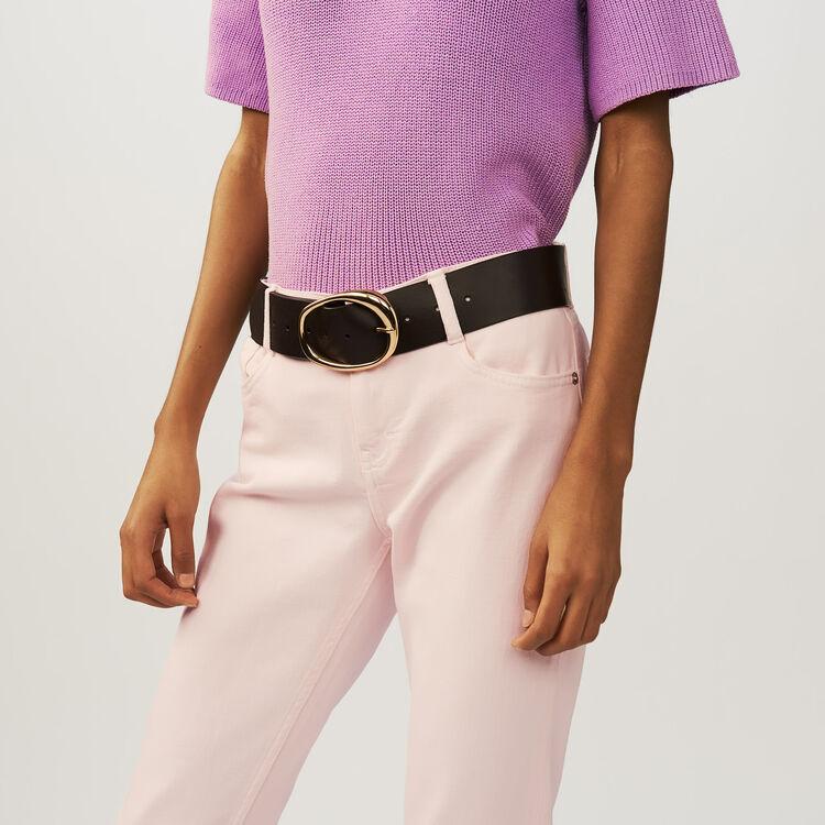 3/4 sleeve jumper : Malla color LILAS