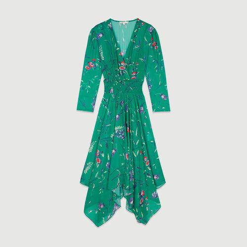 Vestido largo estampado floral : Vestidos color Imprime