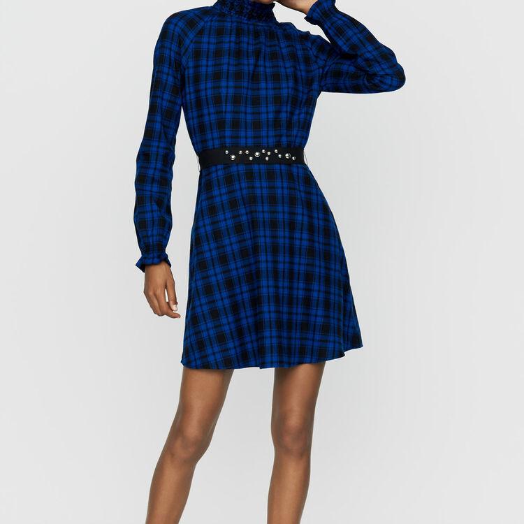 Vestido corto de cuadros : Vestidos color CARREAUX