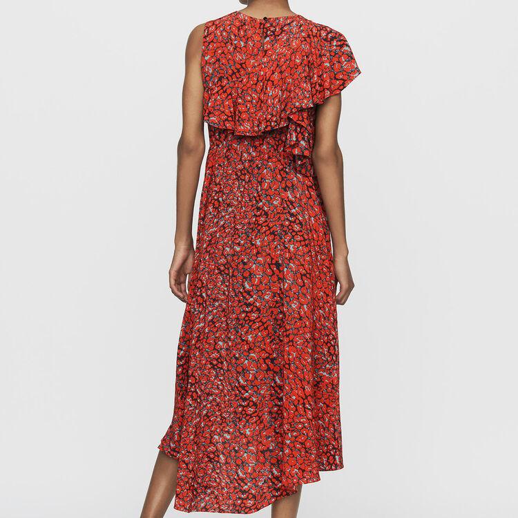 Vestido sin mangas asimétricos : Vestidos color Estampado