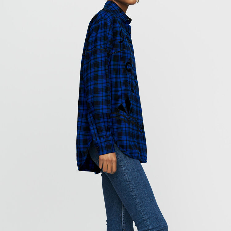 Camisa de cuadros : Prêt-à-porter color CARREAUX