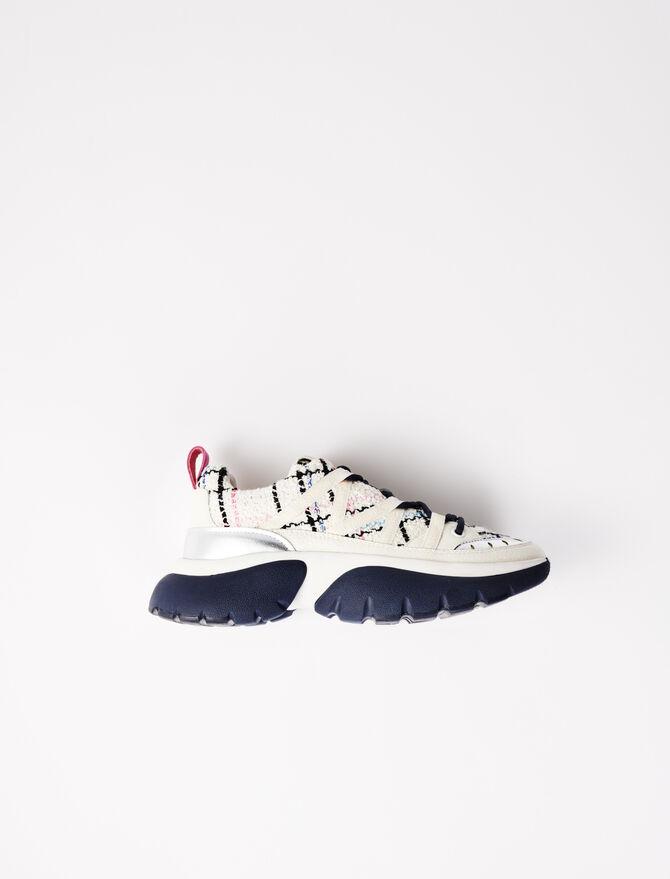 Zapatillas W20 urbanas tweed - Sneakers - MAJE