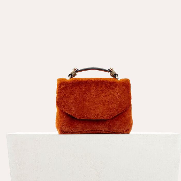 Evening Tasche aus Kunstpelz : Ver todo color Caramelo