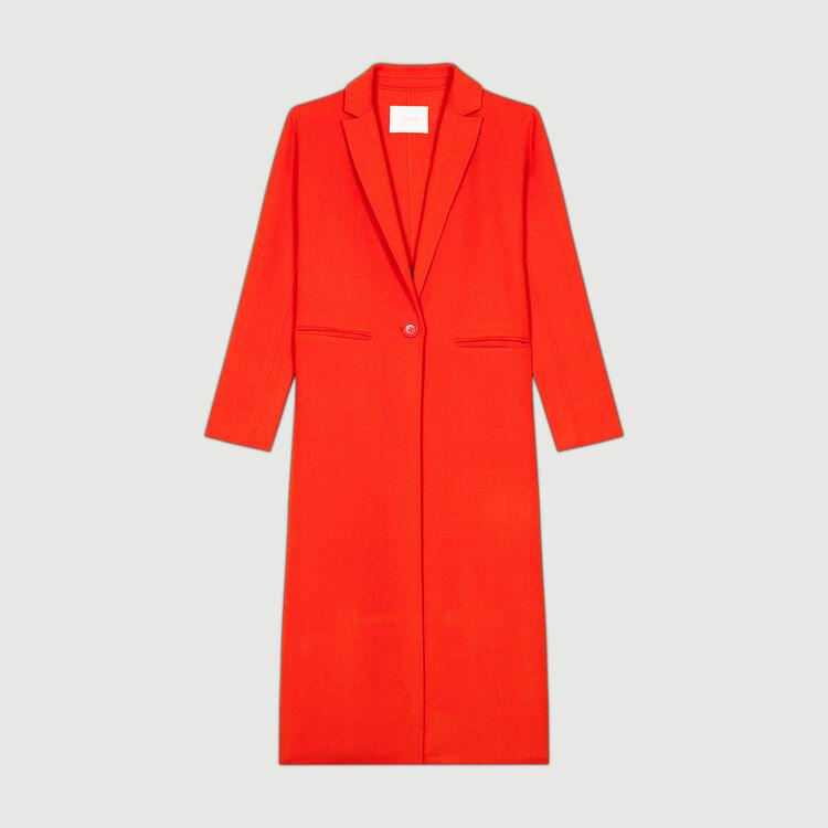 Abrigo largo doble lado : Abrigos color Naranja